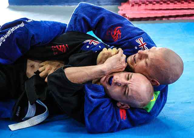 Best martial art for fitness: Brazilian jiu jitsu
