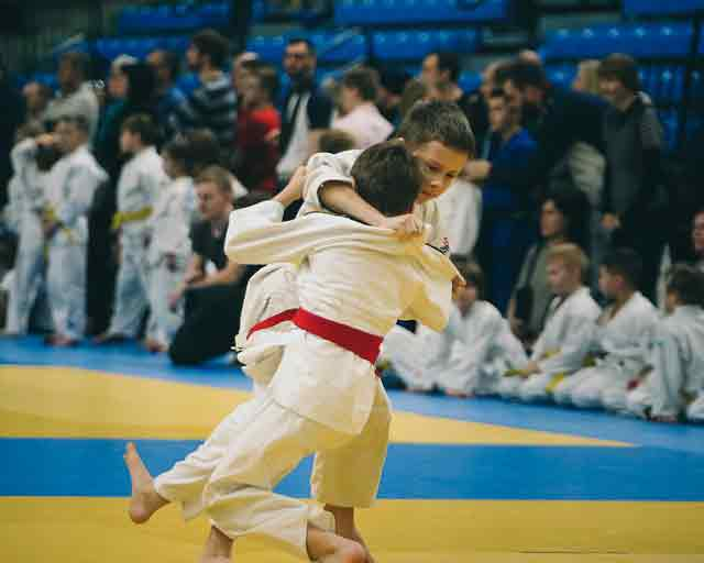 Best martial arts for kids: judo