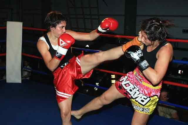 kickboxing match