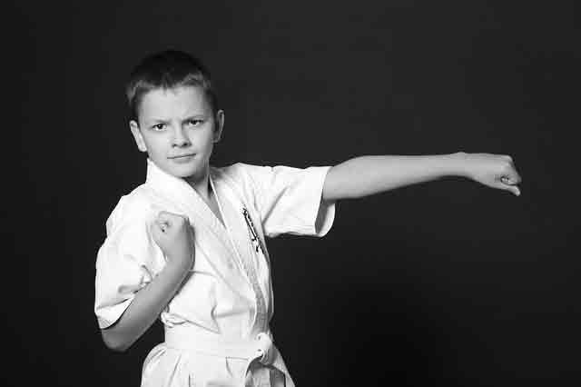 kid punching