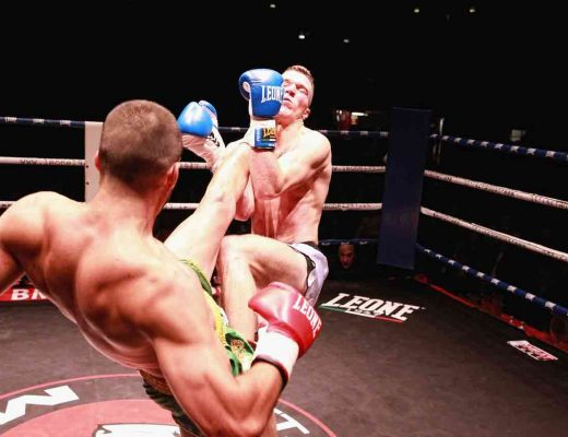 muay thai kick to the face