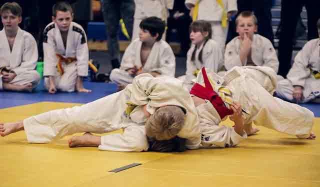 Best martial arts for kids: brazilian jiu jitsu