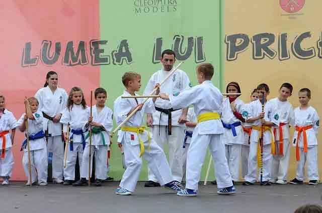Best martial arts for kids: karate