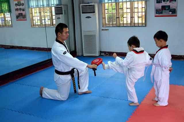 Best martial arts for kids: taekwondo