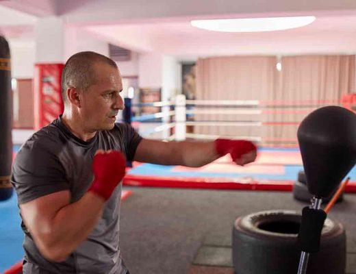 freestanding punching bag