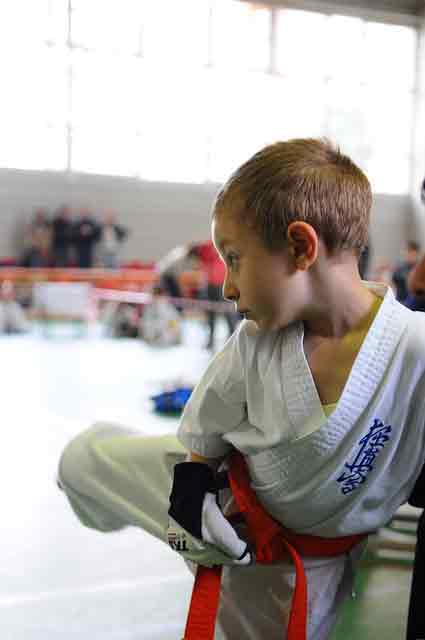 Enroll your child in martial arts: they get physical activity